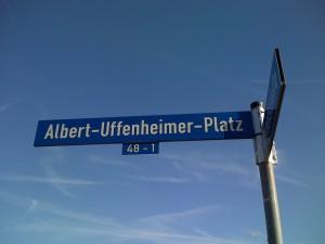 Uffenheimer Platzschild Magdeburg