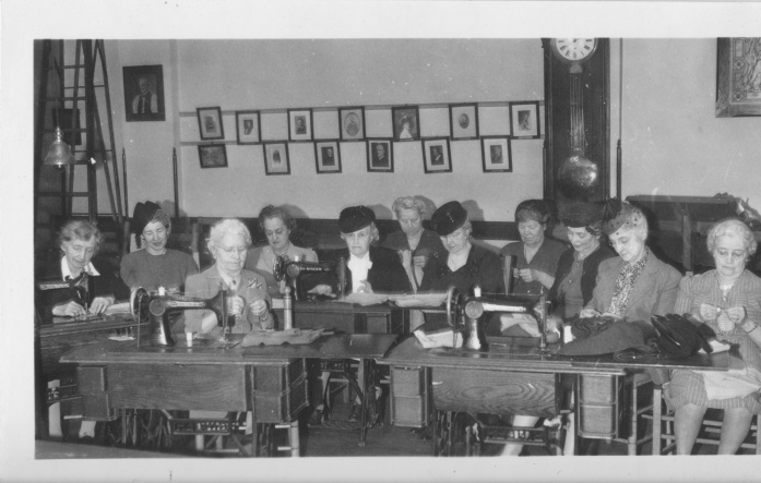 Parish Aid Society Ladies January 1947