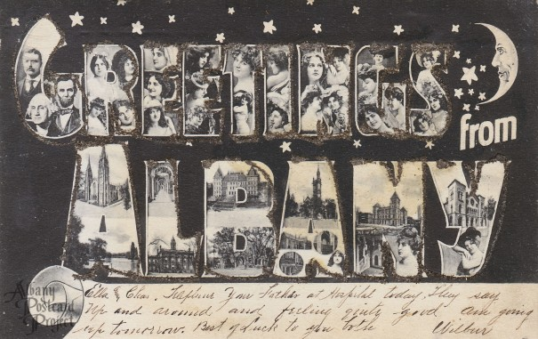 Greetings from Albany (1906),  by permission of the Albany Postcard Project