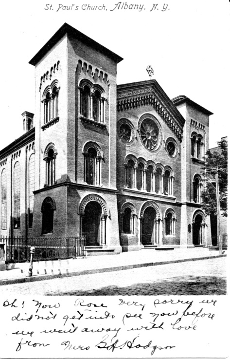Postcard of St. Paul's Church (1911)