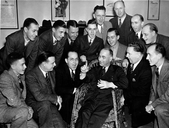 1938 Choir Boy Reunion with T.F.H. Candlyn
