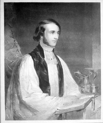 Wm. Ingraham Kip at St. Paul's altar (from an 1847 portrait by William Tolman Carlton)