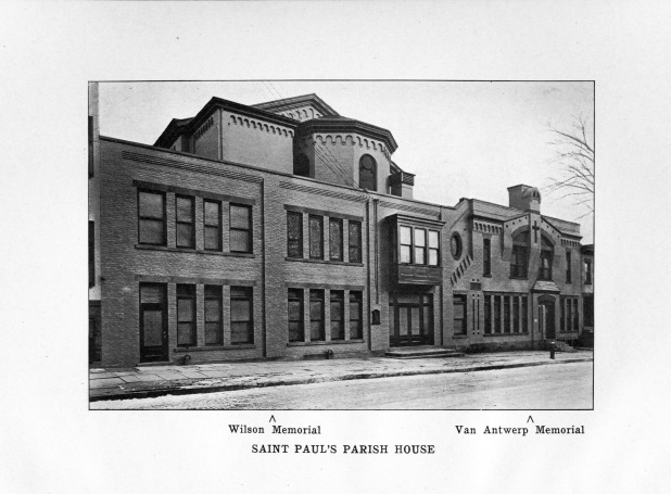 St. Paul's Jay Street Parish House, 1920