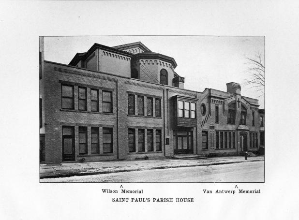 St. Paul's Jay Street Parish House, 1920