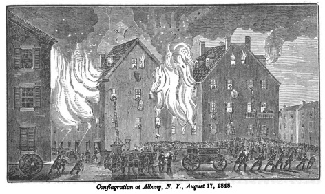Conflagration at Albany N.Y., August 17, 1848