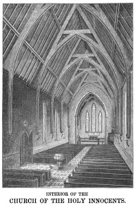 Interior of the Church of the Holy Innocents