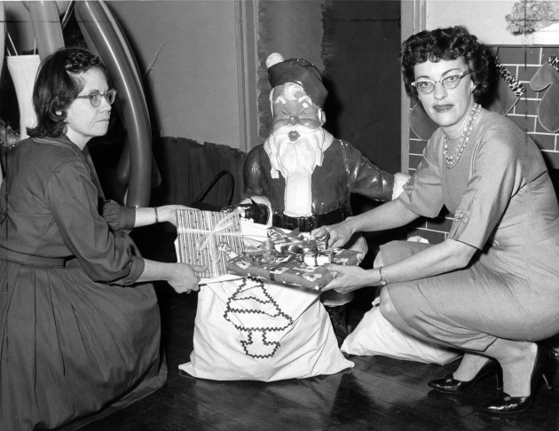 Christmas Bazaar, December 1961: Santa's Pack