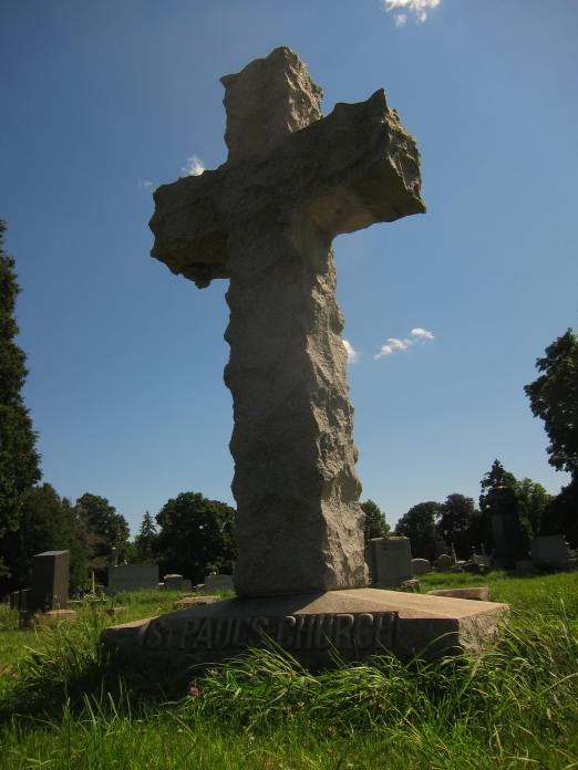 Cross in St. Paul's Lot, Albany Rural Cemetery