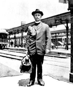 Harry Van Allen (courtesy Gallaudet University Archives)