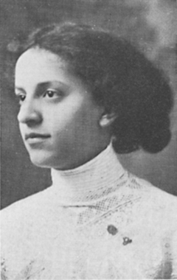 Georgine Sheldon Lewis (University Archives, University at Albany, SUNY)