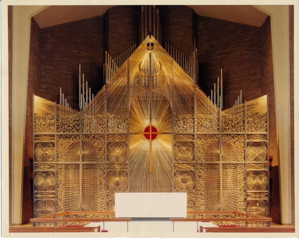 Altar and Reredos, Hackett Boulevard