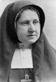 Mother Helen Dunham, Mother Superior of the Sisterhood of the Holy Child Jesus
