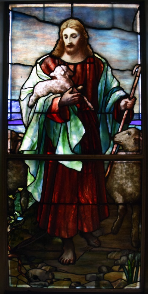 """Christ the Good Shepherd"" window"