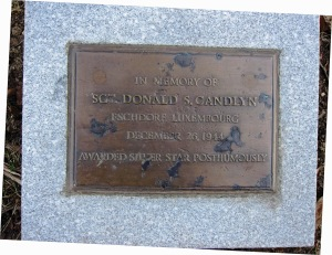 Donald Shore Candlyn memorial, Van Cortlandt Park, the Bronx