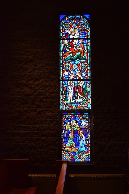 Donald Shore Candlyn window, St. Paul's Chapel