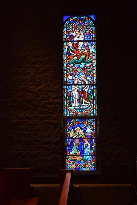 Donald Shore Candlyn window, St. Paul's Chapel