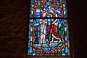 Detail, Donald Shore Candlyn window, St. Paul's Chapel