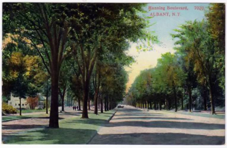 Manning Boulevard (courtesy Albany Group archive)