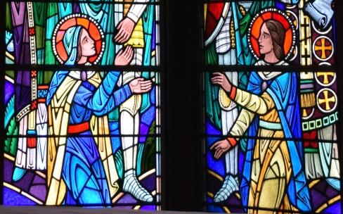 Te Deum laudamus: Mary and St. John