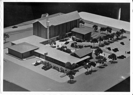 Architect's Model of the Hackett Boulevard building