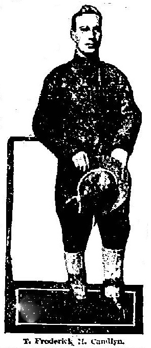 T.F.H. Candlyn in uniform (Albany Evening Journal 31 Dec 1917)