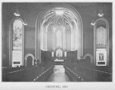 St. Paul's Chancel in 1911