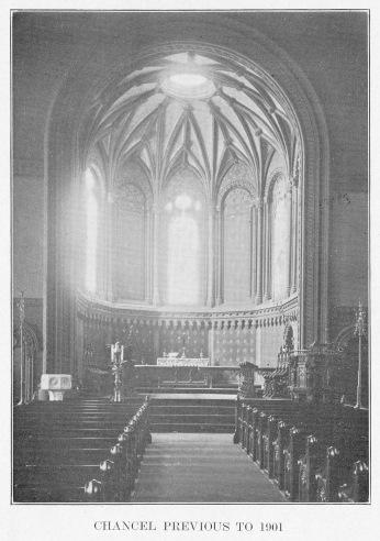 St. Paul's Chancel before 1901