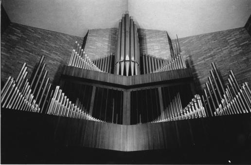 Pipework for St. Paul's Casavant Frères Organ