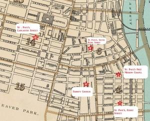Albany's South End (base map circa 1895)