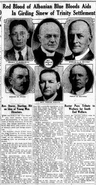 Albany Evening News 15 Dec 1916