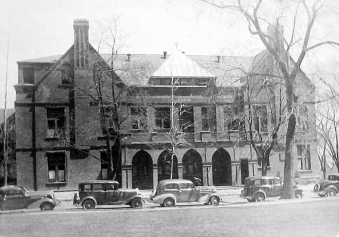 Child's Hospital Elk Street (credit: Albany Public Library Pruyn Collection)