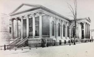 First Baptist Church, Albany (credit: Albany Group Archive)