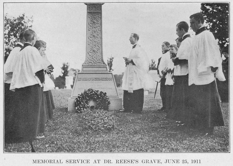 Memorial Service at the Grave of J. Livingston Reese, 25 Jun 1911